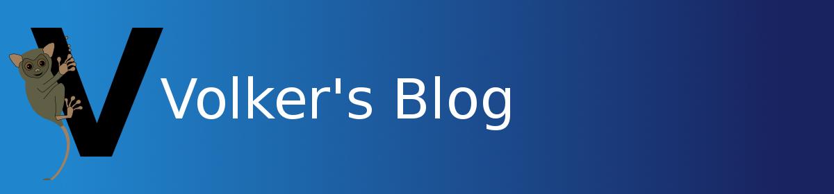 Volker's Blog